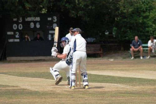 Rob Gibson gets off the mark