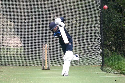 Meanwhile, Future Hambledon is practising in the nets