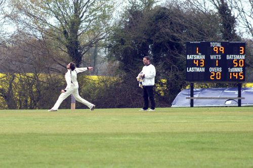 Skipper decides to come on for a few overs