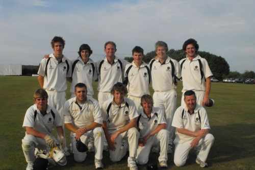 Hambledon beat Paultons CC in the Regional Final of the npower Village Cup